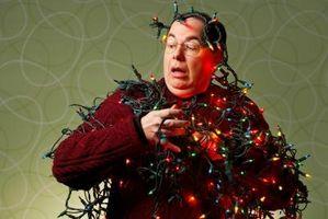 Comment accrocher les lumières de Noël sur House