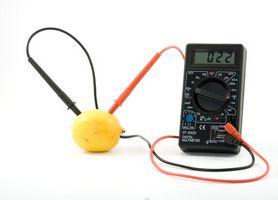 Comment puis-je faire une Volt batterie 9 avec un citron?