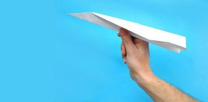 Comment faire un avion en papier Go Faster