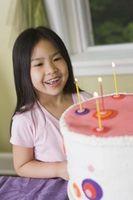 Gâteau d'anniversaire des idées pour enfants Filles