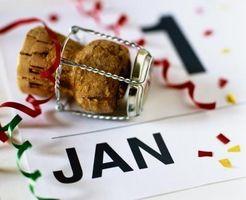 Repas traditionnels Bonne chance pour le Nouvel An
