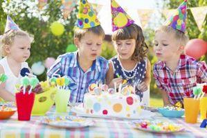 Comment dire pas de cadeau sur l'invitation d'anniversaire d'un enfant