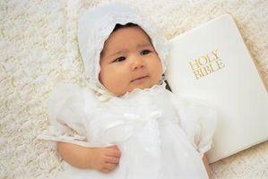 Ce qui à écrire dans une Bible pour un bébé