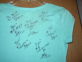 Comment faire la classe Autograph Shirts