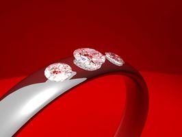 Comment concevoir une bande de mariage de diamant