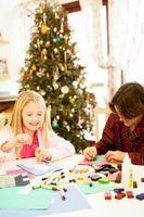 Idées pour faire des cartes de Noël avec les enfants
