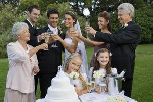 Cadeaux pour les personnes participant à votre mariage