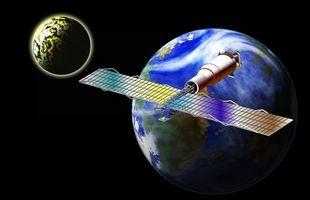 Comment est un objet mis en orbite?