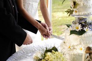 Comment stocker un gâteau de mariage