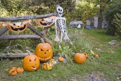 Activités d'Halloween pour les jeunes garçons