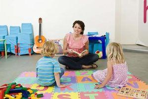Listes de contrôle pour la langue et l'alphabétisation Développement dans Preschoolers