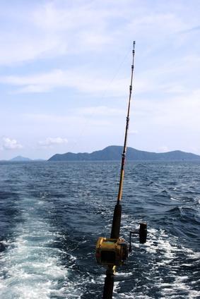 Homemade Pêche Stockage Rod pour bateaux