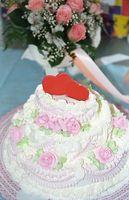 Idées pour rendre votre gâteau de mariage propre