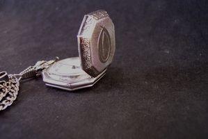 Comment restaurer une montre de poche Vintage