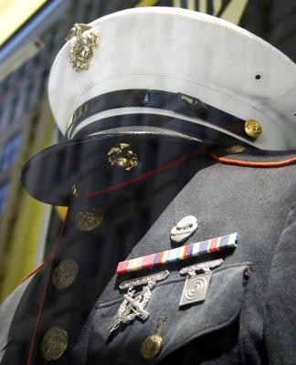 Comment faire pour personnaliser USMC Window Cling