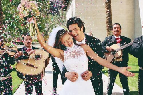 Plancher de danse bricolage pour un mariage en plein air
