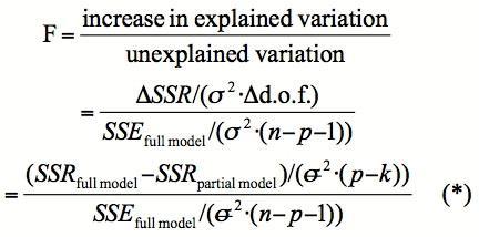 Comment calculer P Valeur de F