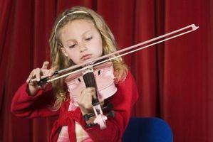 Comment préparer les enfants pour un Violin Recital
