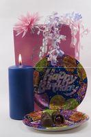 Rédaction d'une carte Invitition pour une fête d'anniversaire