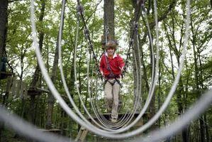 Comment construire un pont de corde pour les enfants