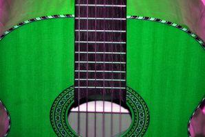 Comment peindre une guitare de cou