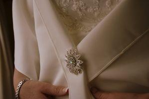 Comment teindre une robe de mariée