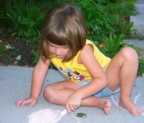 Comment faire un Obstacle Course Sidewalk Chalk
