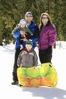 Comment prendre mon 6-mois-vieux bébé dans la neige