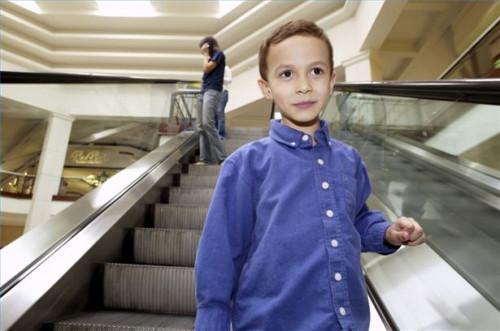 Comment trouver un enfant dans un centre commercial
