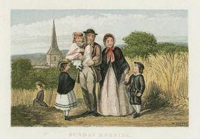 Au début du 19e siècle Vêtements pour enfants