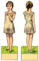 Dress-Me-Up Doll Jeux pour les filles