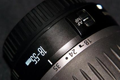 Conversion d'une longueur d'objectif numérique à une longueur SLR Objectif