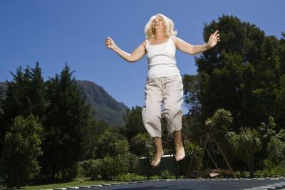 Comment dois-je faire un Front Double Flip sur un trampoline?