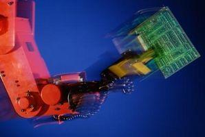 Les parties principales d'un robot