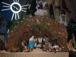 Comment construire une scène de la Nativité
