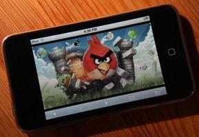 Angry Niveaux Oiseau iPhone