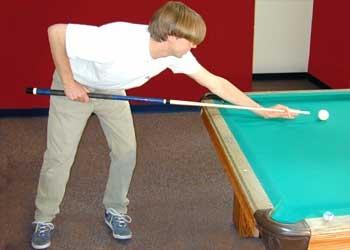 Comment stand lors de la prise dans le Pool